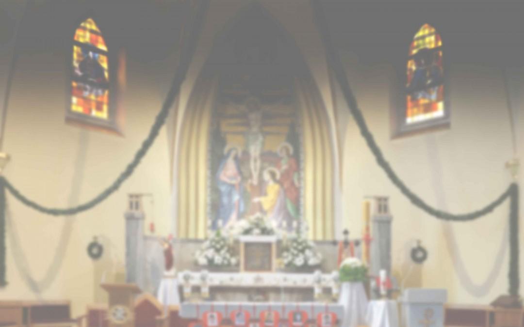 Porządek nabożeństw od 26 października do 1 listopada 2015 r.